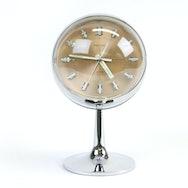 Plastic gold clock