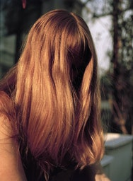 Photography of red haired lady