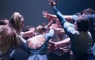 BA(Hons) dance students performing