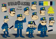 10 Stargazer Police Officers Character Sheet