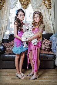 The Urban Gypsies Sisters by Paul Wenham-Clarke