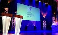 Royal Television Society awards stage