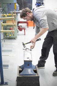 hammering metal model
