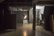 photography studio with light in
