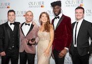 AUB acting graduates receiving Olivier award