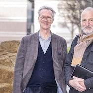 Professor Simon Olding and Tim Harrisson