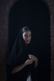 Acting student in a production of The House of Bernada Alba