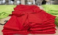 Red Nursing Scrubs
