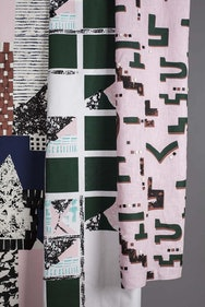 coloured textiles