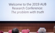 AUB research banner