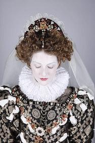 Woman in Elizabethan Costume