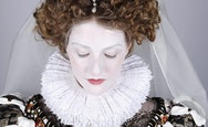 Woman in Elizabethan Costume