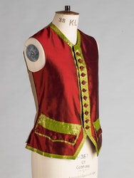 Costume and Tailoring Summer Scool Work 18th Century Male Silk Waistcoat