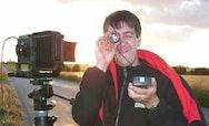 Chris Moles taking a photo