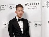 Darius Shu at the Tribeca Film Festival