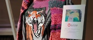 Tiger head on a jumper
