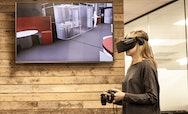 Women using AR technology