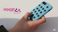 blue remote control