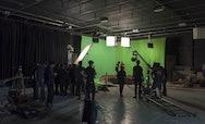 Filming at Elliott Road