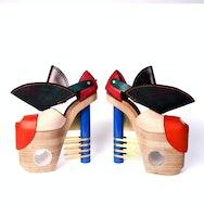 pair of high heels