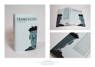 Cover design for Mary Shelley's Frankenstein
