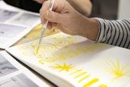Markmaking in watercolour