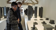 fine art students attending Hauser and Wirth