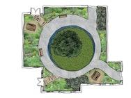 courtyard plan