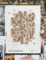 Jordan Robertson typography poster