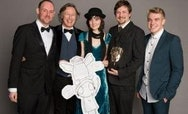 Image of Karrot Entertainment Staff with BAFTA
