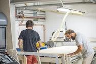 Men in studio