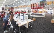 Inside AUB's Library