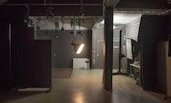 Lighting equipment in a Photography studio