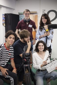 Summer Courses Filmmaking student's group shot