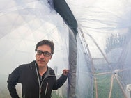 Michael Pinsky in Pollution Pods