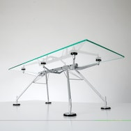 model of glass table