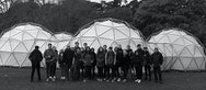 AUB Human volunteers helping out at Michael Pinsky's Pollution Pods