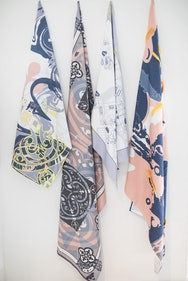 Project work Textiles student