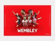 Southampton FC promotional artwork.
