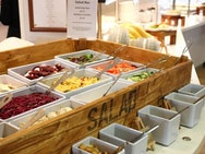 The Refectory's salad bar