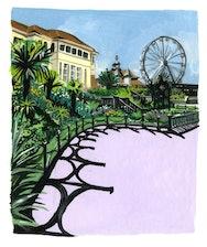 illustration of bournemouth gardens