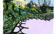 illustration of bournemouth gardens