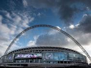 Silo branding at Wembley Stadium