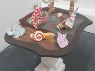 Shapes on a table