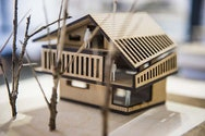 model of house