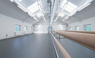 Image of one of AUB's dance studios