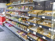 Image of The Shop displaying different food options