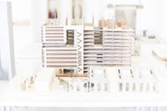 Work on show at Architecture Summer Show
