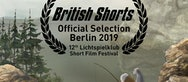 British Shorts Official Selection Berlin 2019 poster