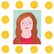 Cartoon Picture of a girl